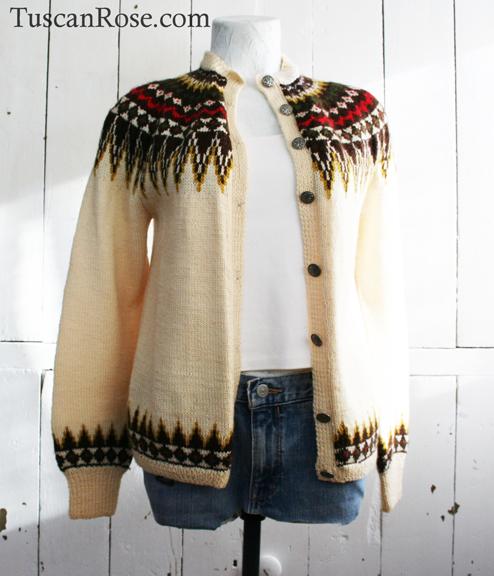 Norwegain fairisle sweater