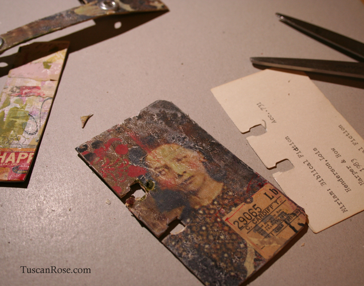 Scrapodex recycled cards