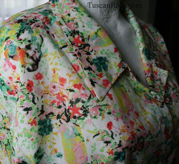 Hugo grenville libery hinse italian blouse
