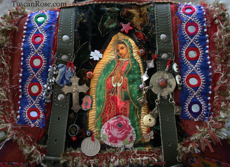 Guadalupe bohemian gypsy military backpack boho bag journal