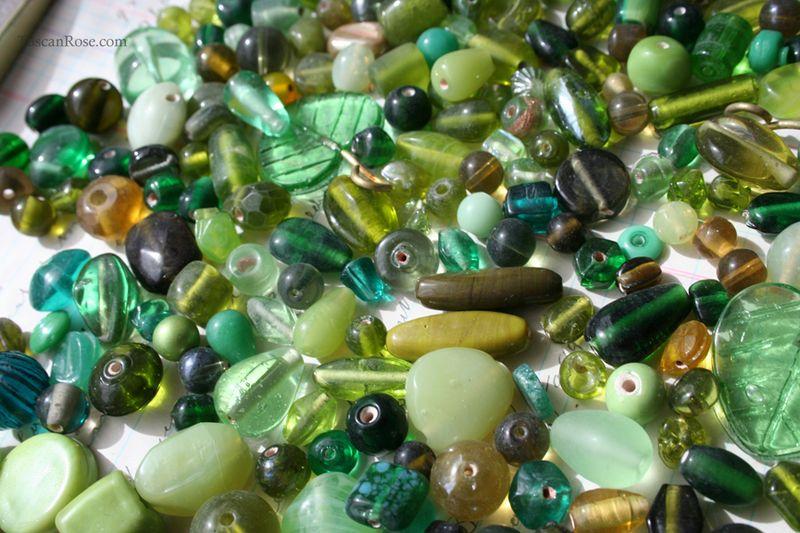 Shamrock island bead soup d