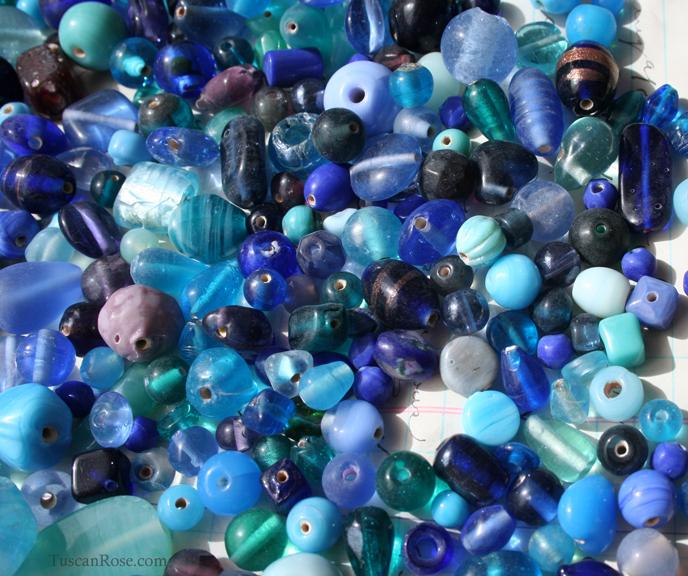 Ocean mermaid bead soup mix c