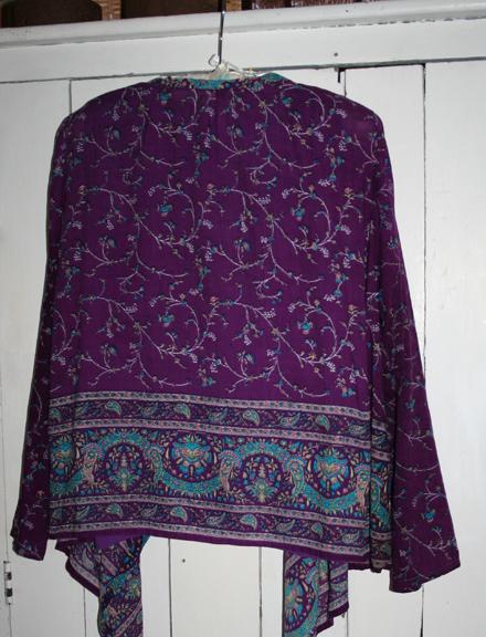 Kashmiri tracy milton pattern 8559 repurposed fabric (1)
