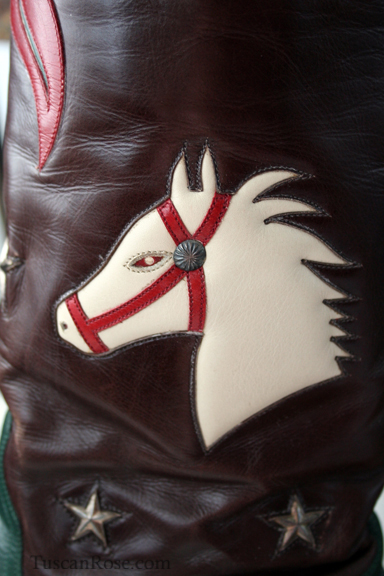 Stallion boot detail