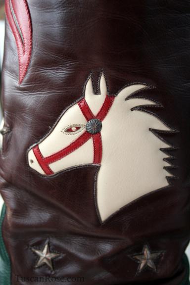 Stallion boot detail
