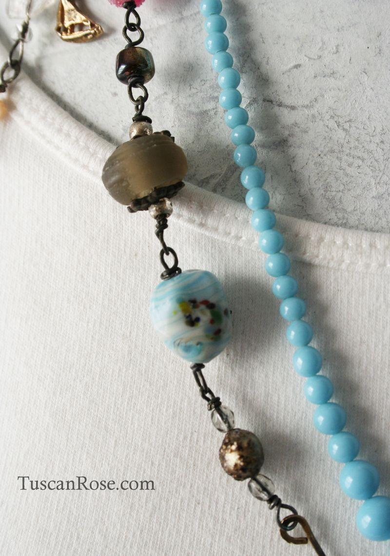 Mermaid talisman necklace b