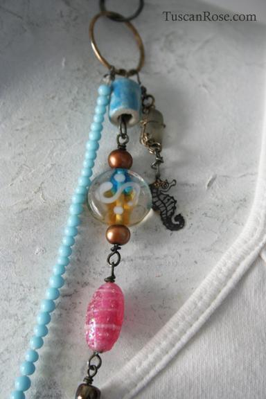 Mermaid talisman necklace g