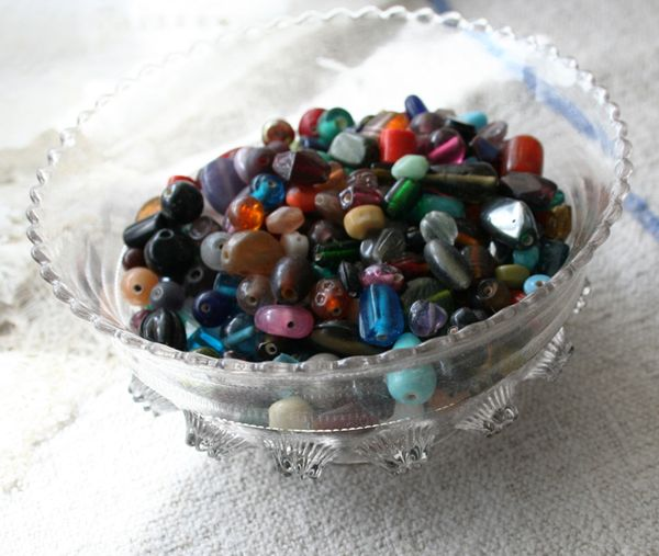 Glass lampwork beads one pound lot (1)