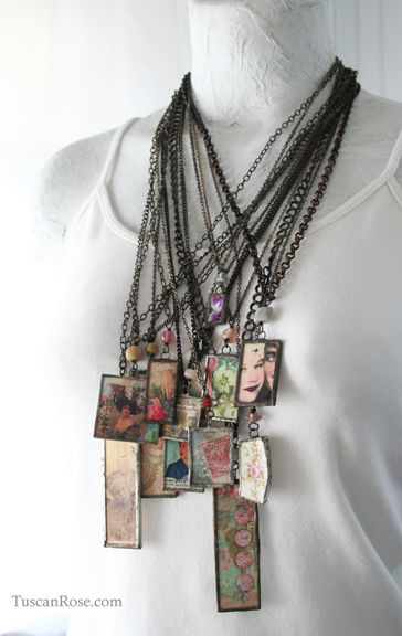 Lilttle pretty necklaces
