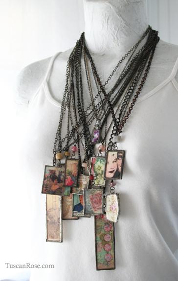 Lilttle pretty necklaces