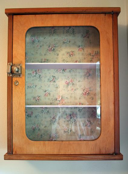 Granny wall cabinet