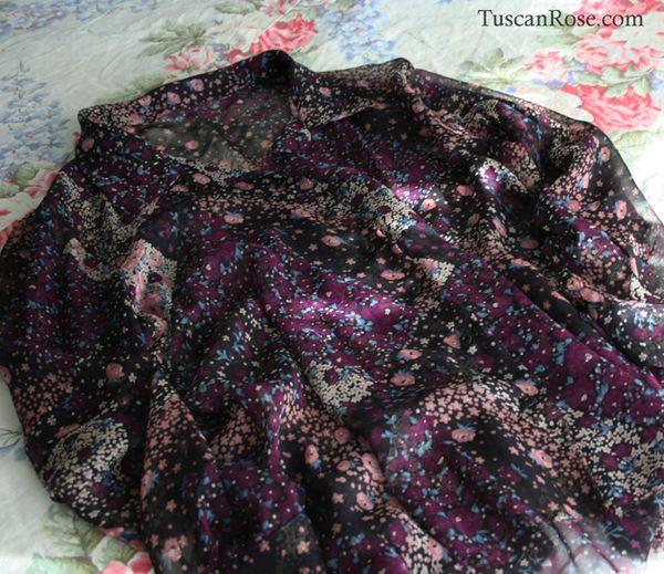 Betsey johnson silk blouse
