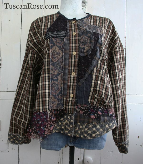 Goth grunge revival number 106 jacket top   (1)