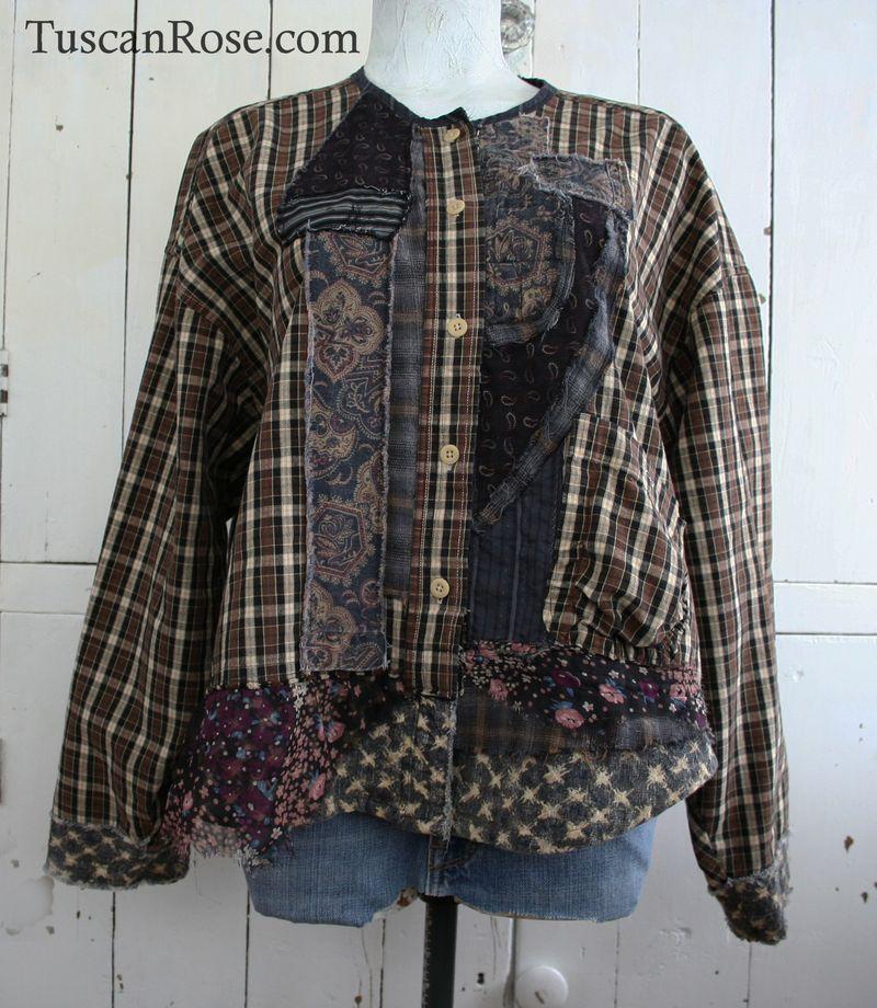 Goth grunge revival number 106 jacket top   (1)