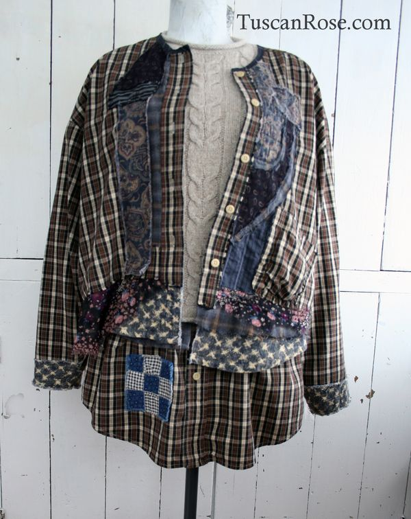 Grunge revival day sweater and jacket