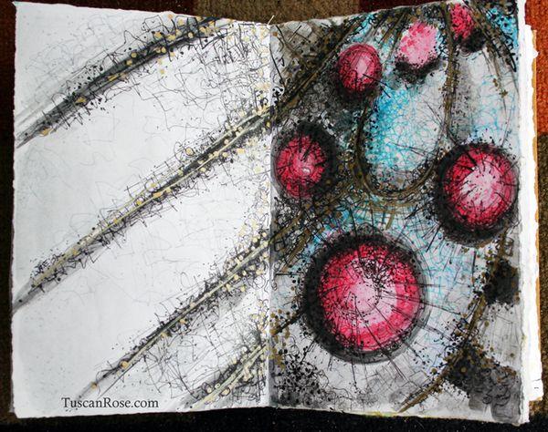 Monarch nebula journal page