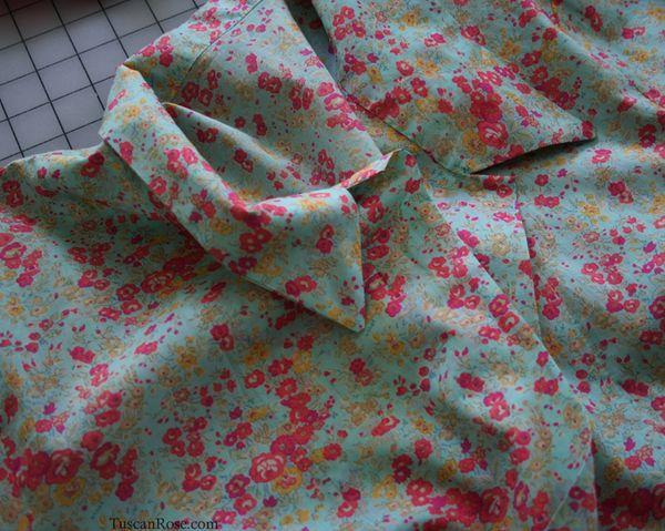 Liberty arts rose fabric