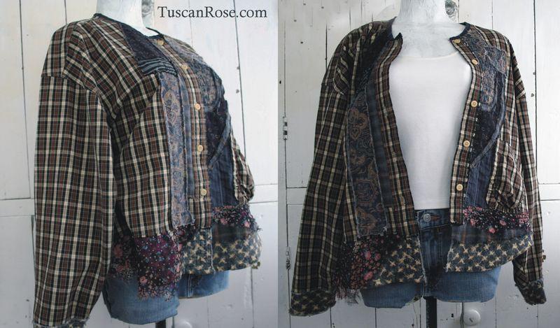 Goth grunge revival number 106 jacket top   (3)