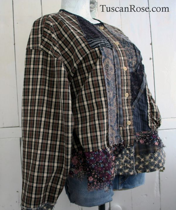 Goth grunge revival number 106 jacket top (5)