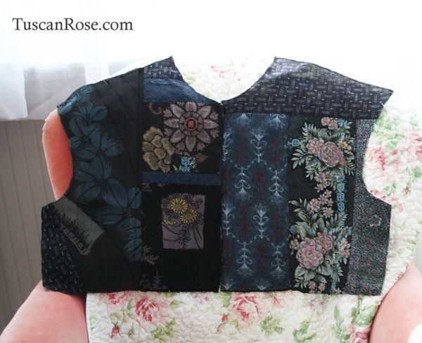 Fun with fabrics kimono jacket pieces