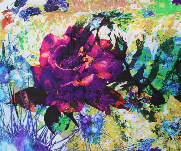 Fantasy floral large rose