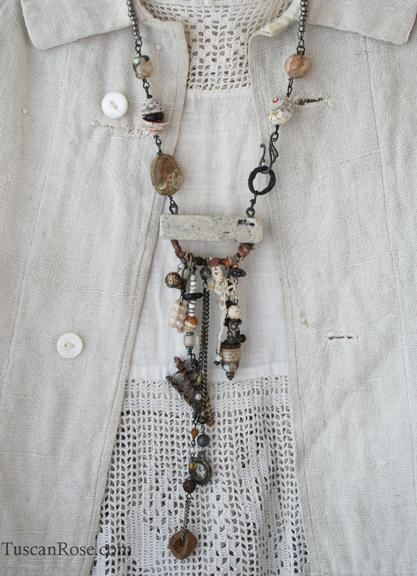 Fair winds mermaid talisman necklace (1)