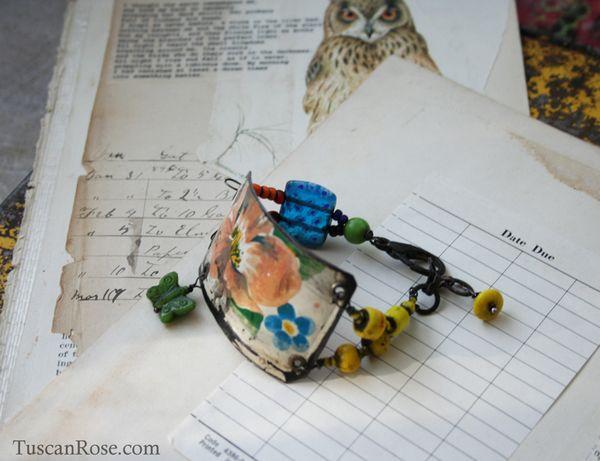 Butterfly circus bracelet b