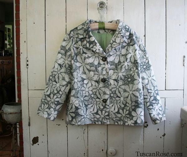 Daisy jacket front