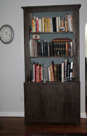 Cabinet painted