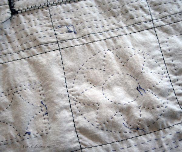 Kimono jacket quilting b