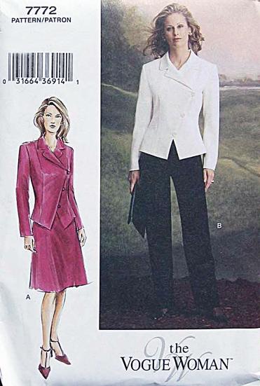 Vogue 7772 pattern