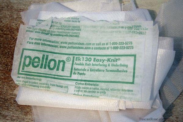 Pellon easy knit interfacing stabilizer