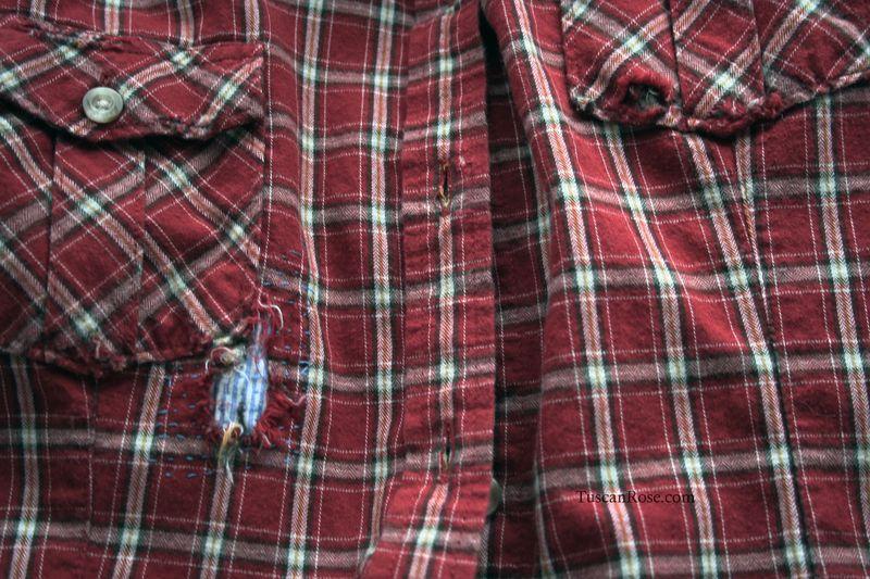 Shirt dark red d