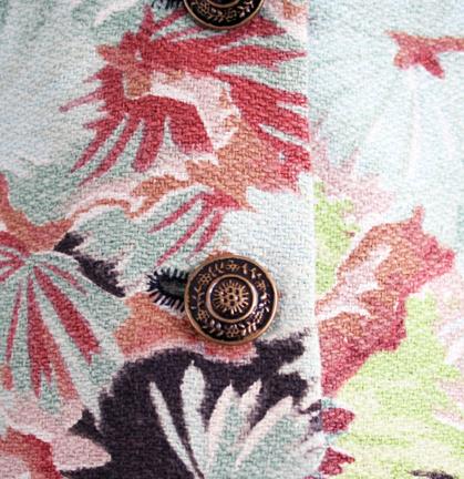 Barkcloth vest buttons butterick pattern 4662 (1)