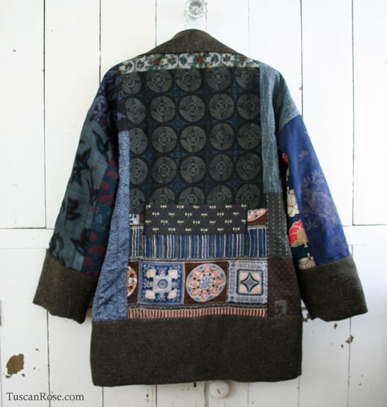 Kimono jacket back