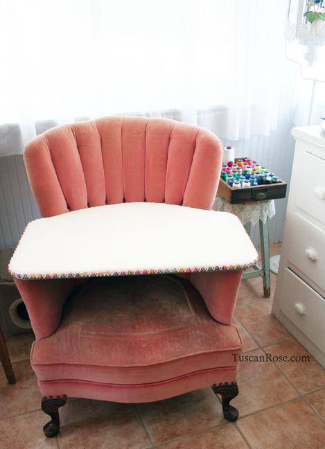 Chair pressing board