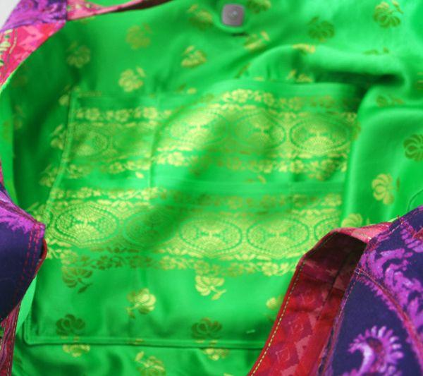 Boho gypsy bag multi pocket