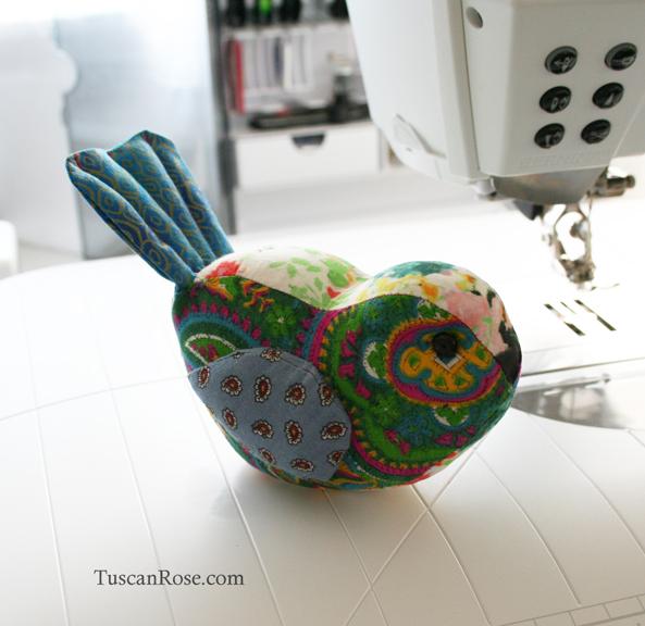 Birdie pincushion