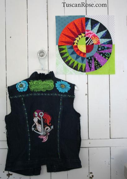 Wip vest quilt