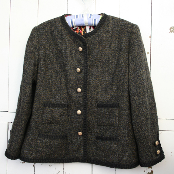 French jacket completed