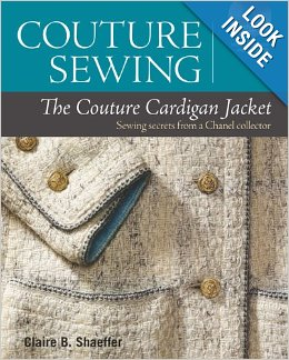 Claire shaeffer couture sewing book