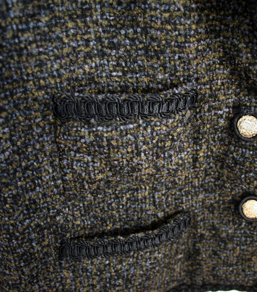 French jacket patch pockets