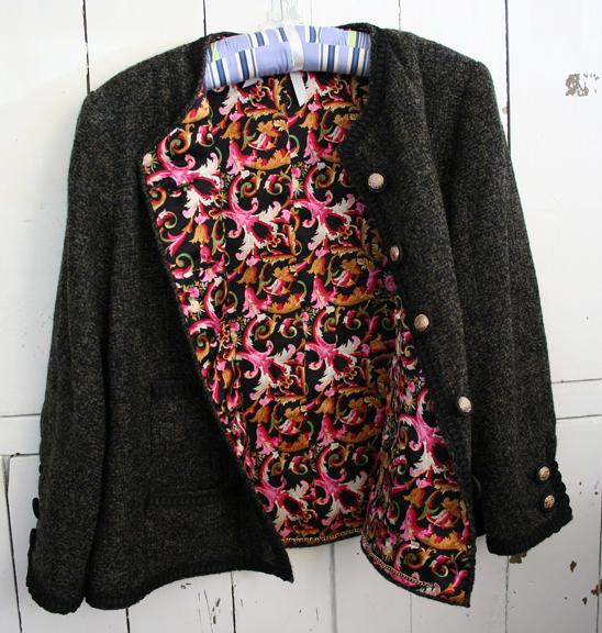 French jacket lining