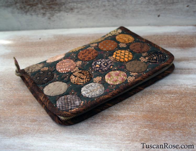 Zippered sewing portfolio case (1)