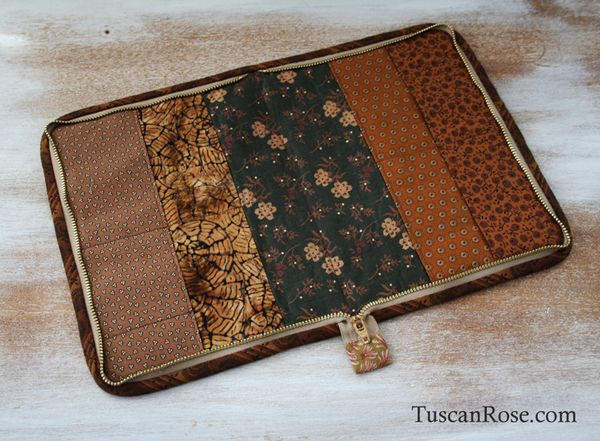 Zippered sewing portfolio case (3)