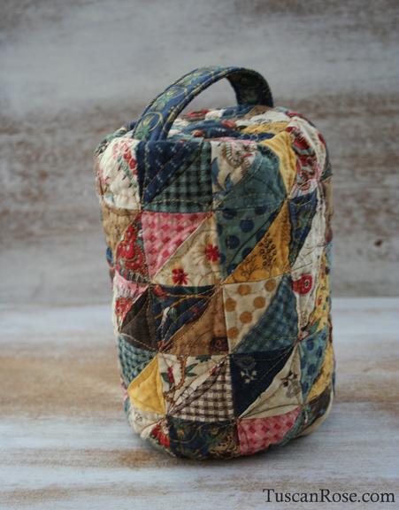 Yoko saito inspired sewing bag (1)