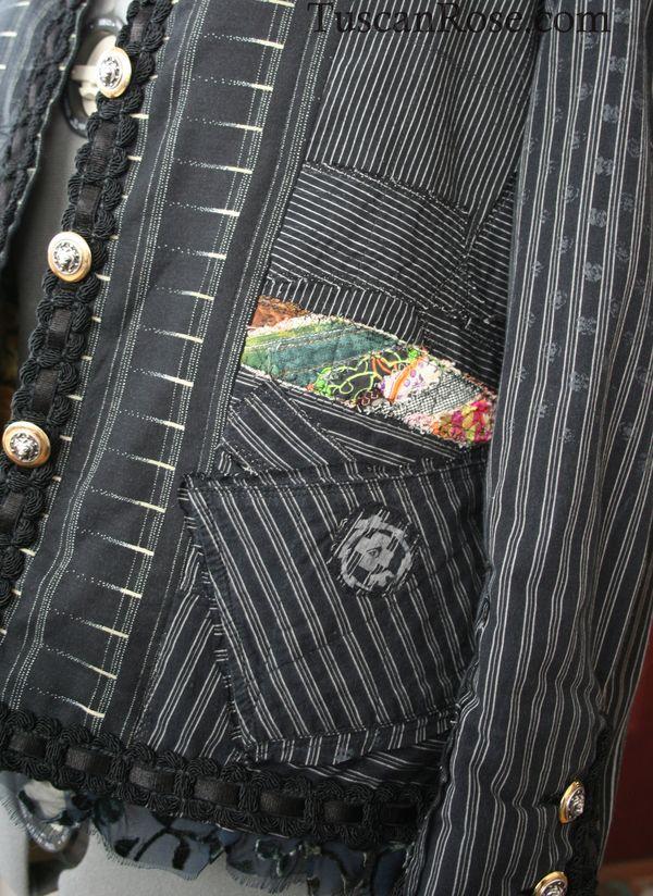 French punk jacket a