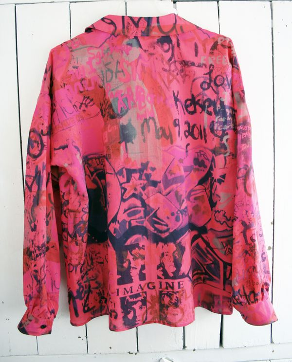 Graffiti blouse vogue 8119 imagine (5)