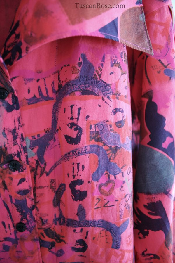 Graffiti blouse vogue 8119 imagine (3)