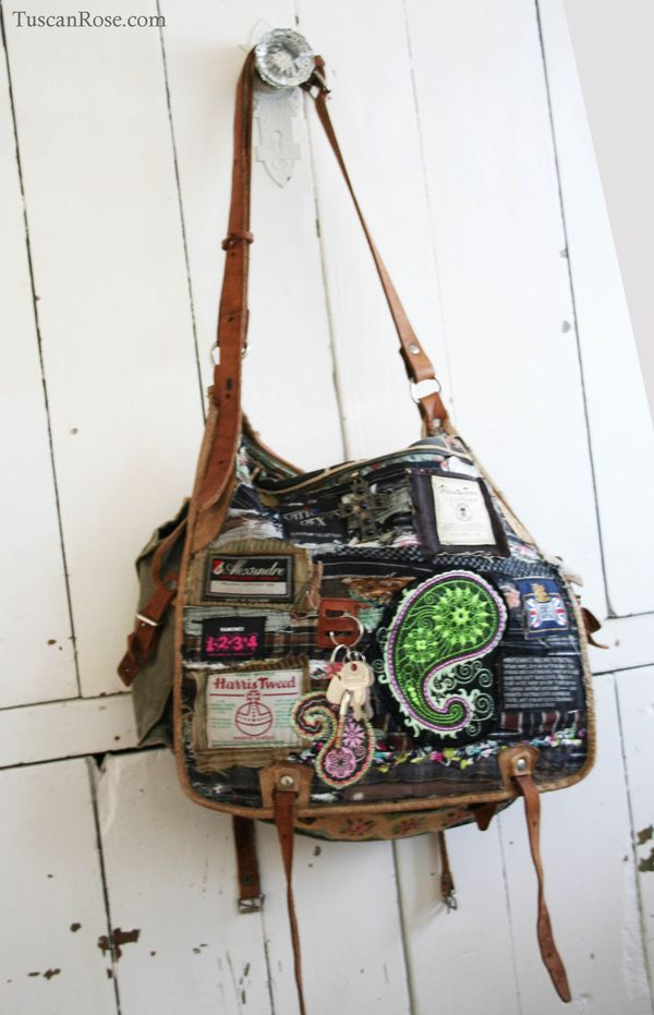 Altered military bag